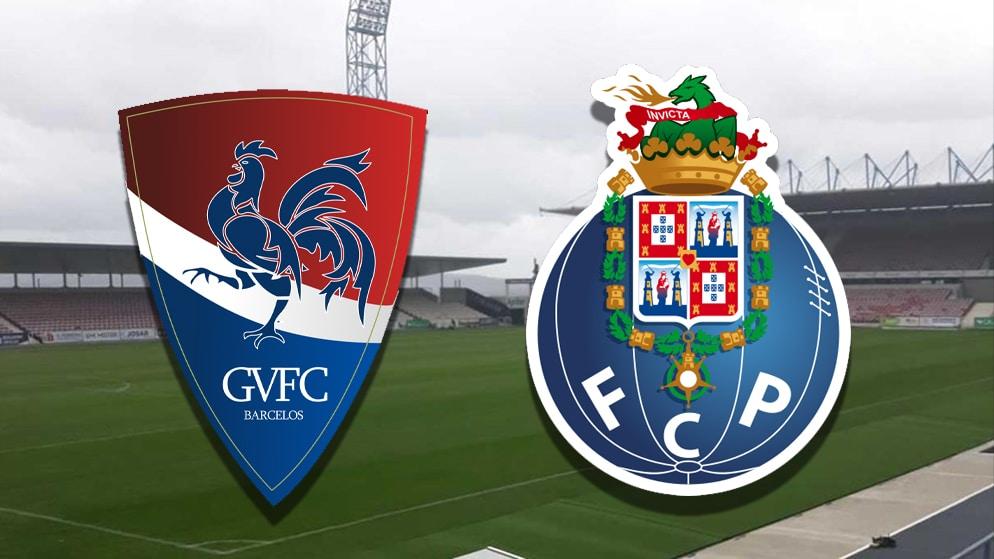 Apostas Gil Vicente x Porto Taça de Portugal 29/01/2021