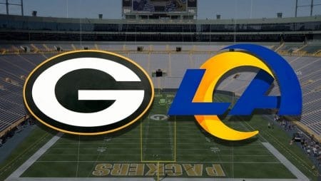 Apostas Packers x Rams NFL 16/01/2021