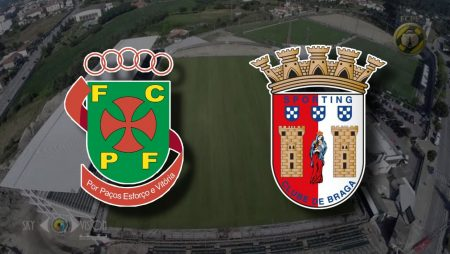 Apostas Paços de Ferreira x Braga Campeonato Português 16/01/2021