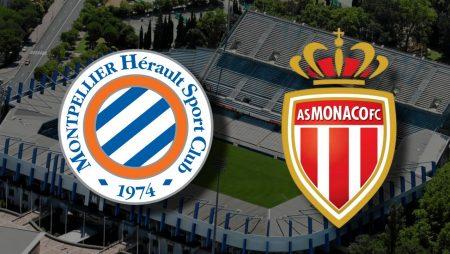 Apostas Montpellier x Mônaco Campeonato Francês 15/01/2021