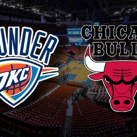 Apostas Oklahoma City Thunder x Chicago Bulls NBA 15/01/2021