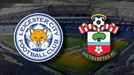 Apostas Leicester x Southampton Premier League 16/01/2021
