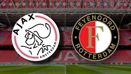 Apostas Ajax x Feyenoord Campeonato Holandês 17/01/2021