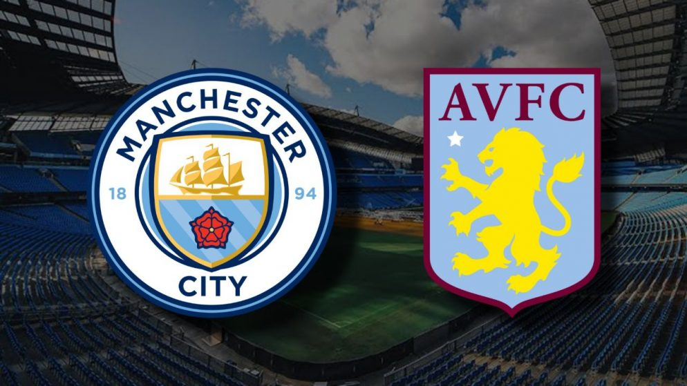 Apostas Manchester City x Aston Villa Premier League 20/01/2021