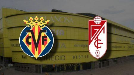 Apostas Villarreal x Granada La Liga 20/01/2021