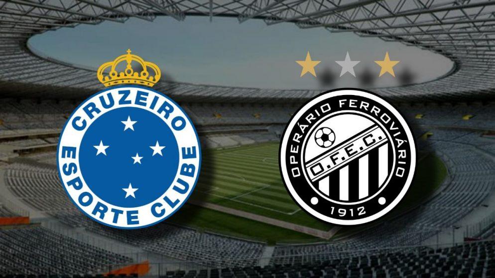 Apostas Cruzeiro x Operário Brasileirão Série B 20/01/2021