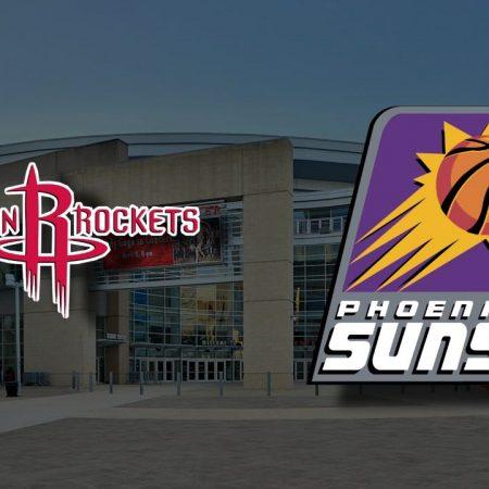Apostas Houston Rockets x Phoenix Suns NBA 20/01/2021