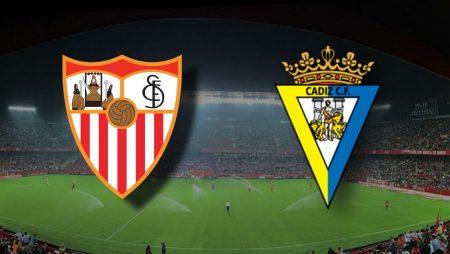 Apostas Sevilla x Cádiz La Liga 23/01/2021