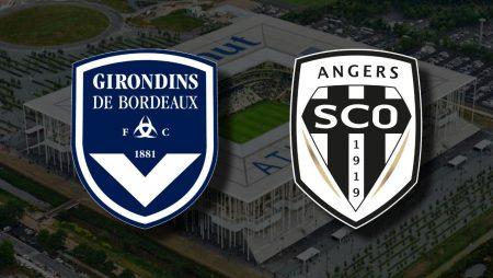 Apostas Bordeaux x Angers Campeonato Francês 24/01/2021