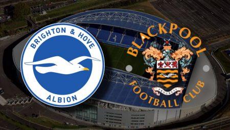 Apostas Brighton x Blackpool Copa da Inglaterra 23/01/2021