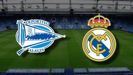 Apostas Deportivo Alavés x Real Madrid La Liga 23/01/2021