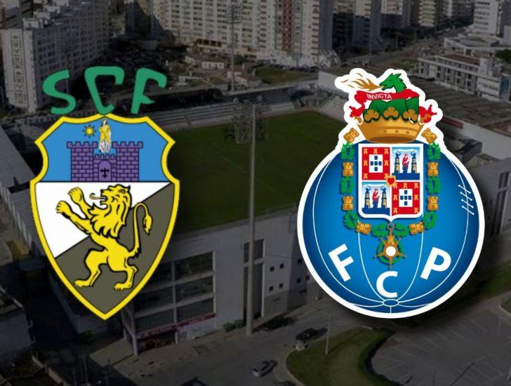 Apostas Farense x Porto Campeonato Português 25/01/2021
