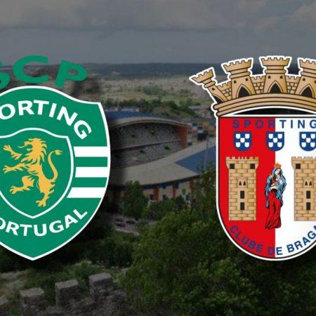 Apostas Sporting x Braga Final Taça da Liga de Portugal 23/01/2021