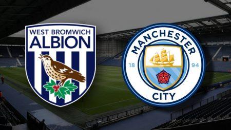Apostas West Bromwich x Manchester City Premier League 26/01/2021