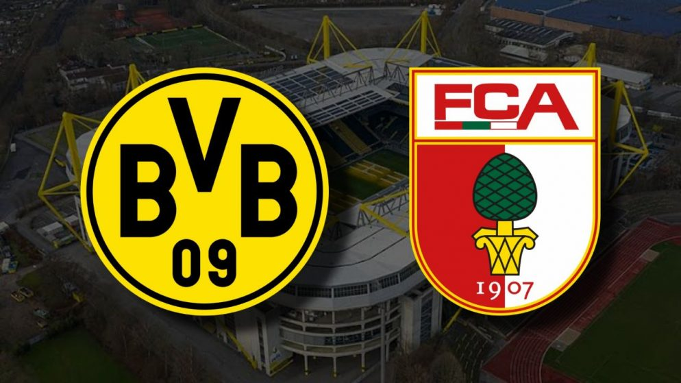 Apostas Borussia Dortmund x Augsburg Bundesliga 30/01/2021