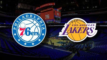 Apostas Philadelphia 76ers x Los Angeles Lakers NBA 27/01/2021