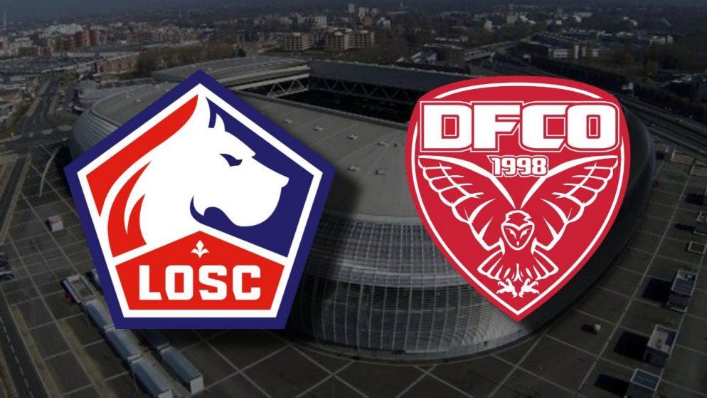 Apostas Lille x Dijon Ligue 1 31/01/2021