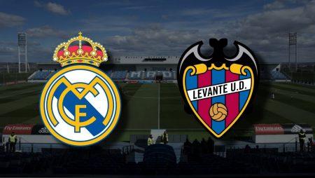 Apostas Real Madrid x Levante La Liga 30/01/2021
