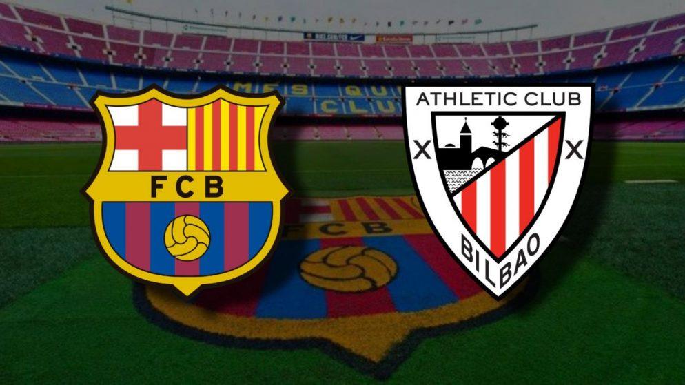 Apostas Barcelona x Athletic Bilbao La Liga 31/01/2021