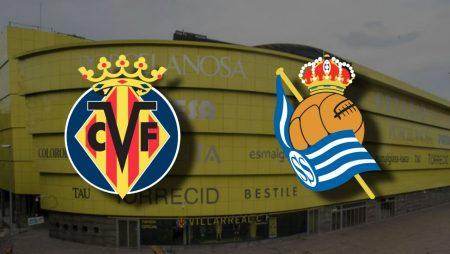 Apostas Villarreal x Real Sociedad La Liga 30/01/2021