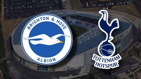 Apostas Brighton x Tottenham Premier League 31/01/2021