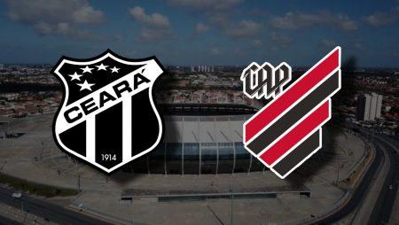 Apostas Ceará x Athletico Paranaense Brasileirão 31/01/2021