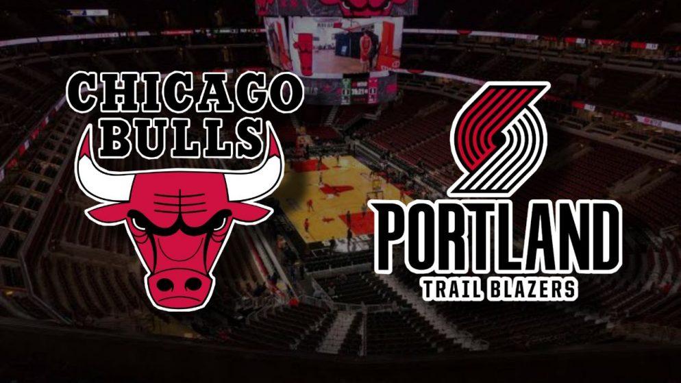 Apostas Chicago Bulls x Portland Trail Blazers NBA 30/01/2021