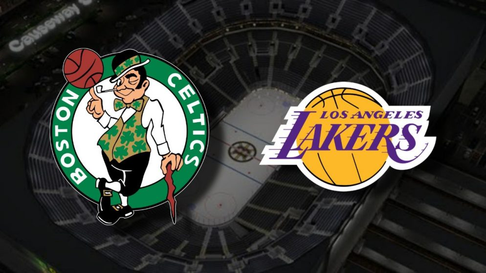 Apostas Boston Celtics x Los Angeles Lakers NBA 30/01/2021