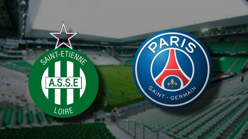 Apostas Saint-Étienne x PSG Campeonato Francês 06/01/2021