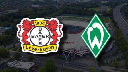 Apostas Bayer Leverkusen x Werder Bremen Bundesliga 09/01/2021