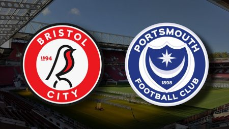 Apostas Bristol City x Portsmouth Copa da Inglaterra 10/01/2021