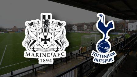 Apostas Marine FC x Tottenham Copa da Inglaterra 10/01/2021