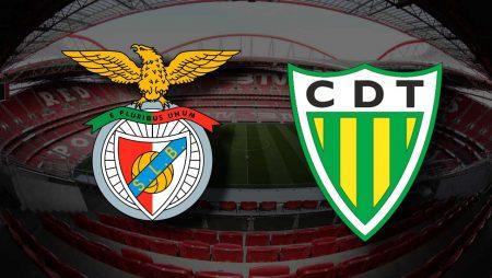 Apostas Benfica x Tondela Campeonato Português 08/01/2021