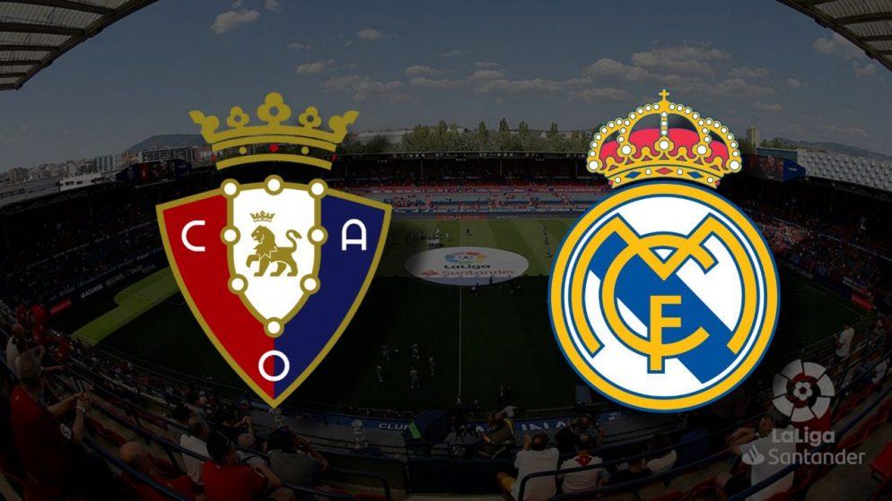 Apostas Osasuna x Real Madrid La Liga 09/01/2021