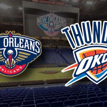 Apostas New Orleans Pelicans x Oklahoma City Thunder NBA 06/01/2021