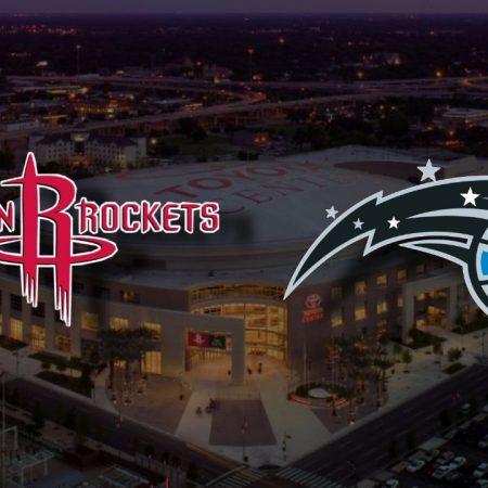 Apostas Houston Rockets x Orlando Magic NBA 08/01/2021