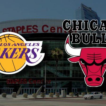 Apostas Los Angeles Lakers x Chicago Bulls NBA 09/01/2021