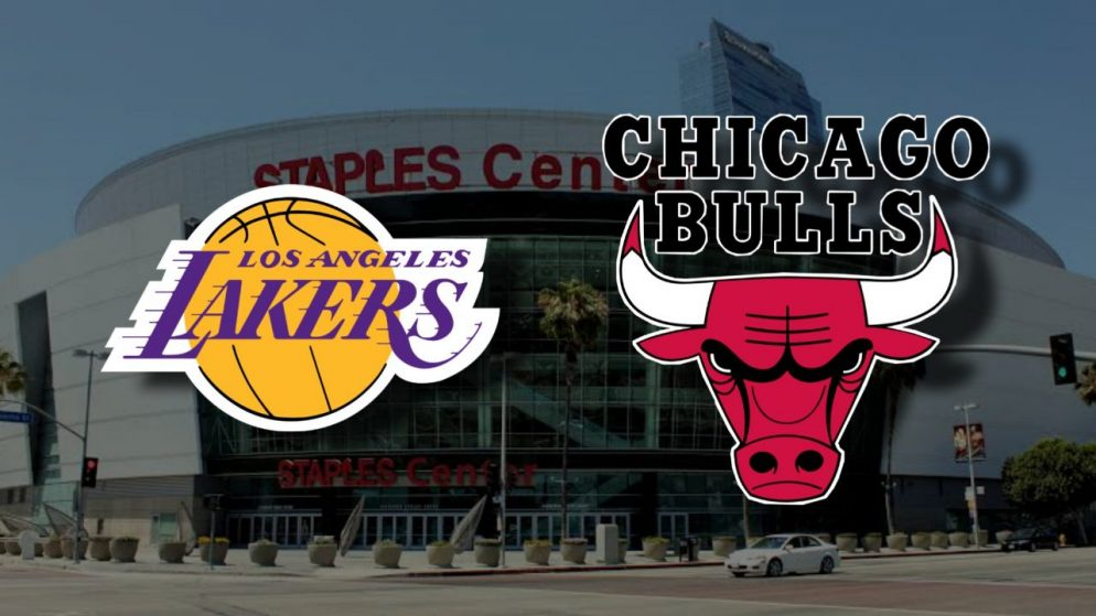 Apostas Los Angeles Lakers x Chicago Bulls NBA 09/01/2021