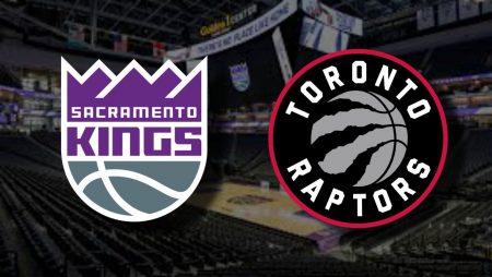Apostas Sacramento Kings x Toronto Raptors NBA 09/01/2021