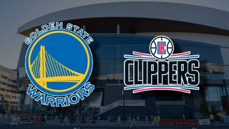 Apostas Golden State Warriors x Los Angeles Clippers 09/01/2021