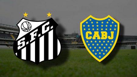 Apostas Santos x Boca Juniors Libertadores da América 13/01/2021