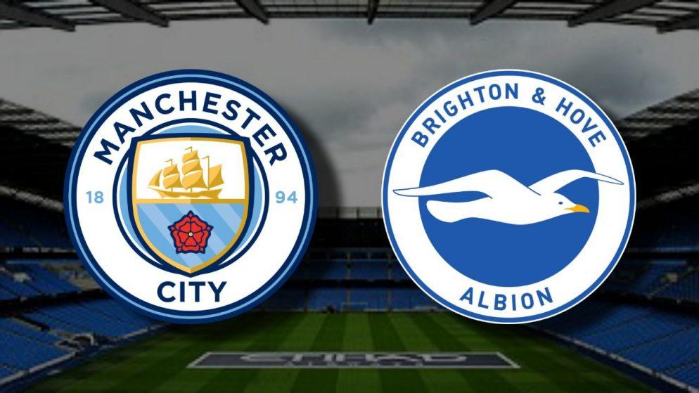 Apostas Manchester City x Brighton Premier League 13/01/2021