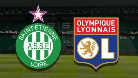 Apostas Saint-Étienne x Lyon Ligue 1 24/01/2021