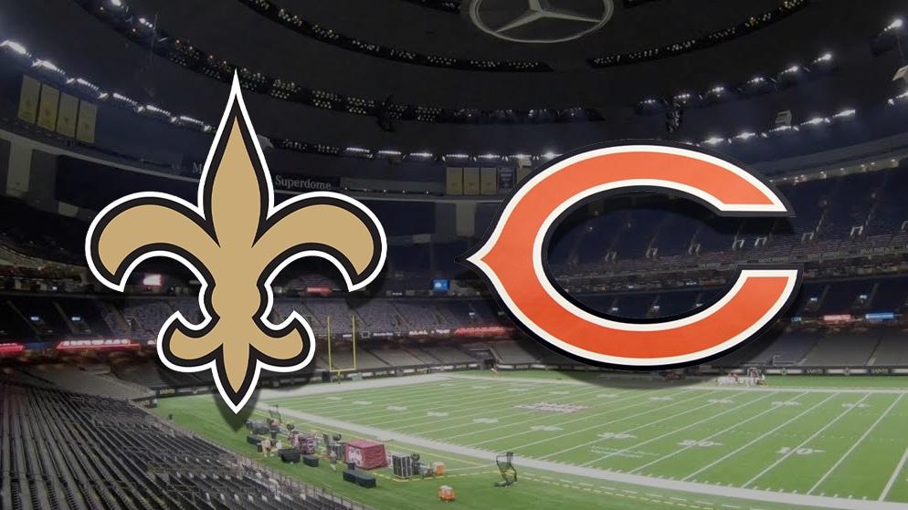 Apostas Saints x Bears NFL 10/01/2021