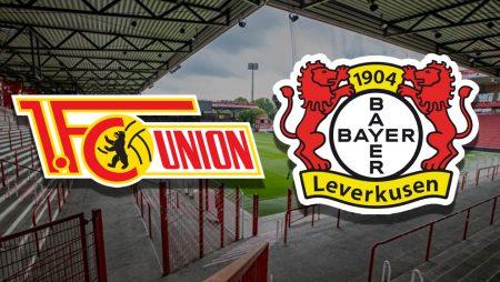 Apostas Union Berlin x Bayer Leverkusen Bundesliga 15/01/2021