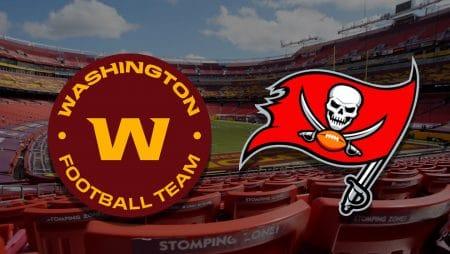 Apostas Washington x Buccaneers NFL 09/01/2021