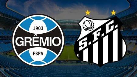 Apostas Grêmio x Santos Brasileirão 03/02/2021