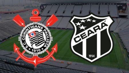 Apostas Corinthians x Ceará Brasileirão 03/02/2021