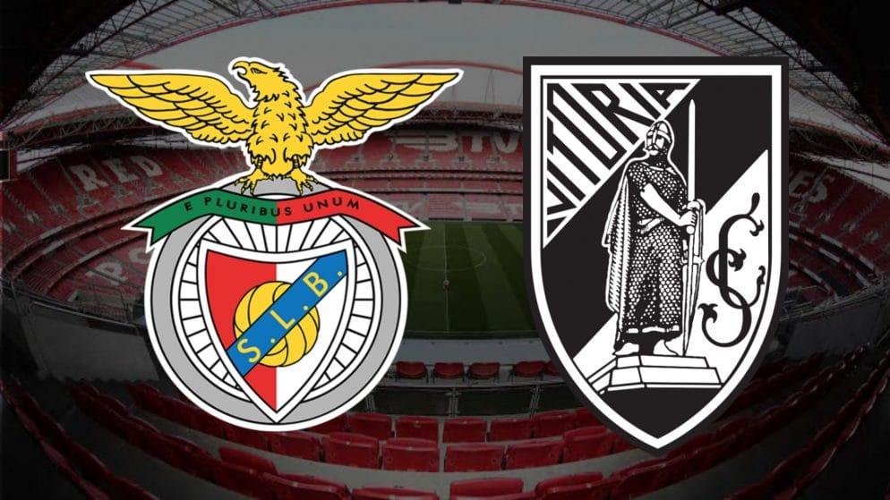 Apostas Benfica x Vitória de Guimarães Campeonato Português 05/02/2021