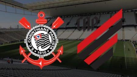 Apostas Corinthians x Athletico Paranaense Brasileirão 10/02/2021